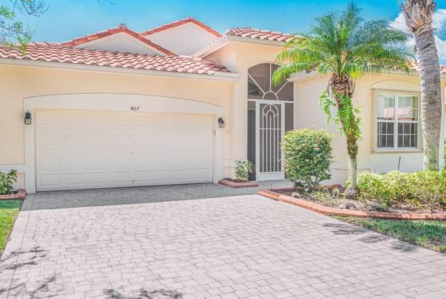 407 Sunview Way, Saint Lucie West, FL 34986 (MLS #RX-10656732) :: Berkshire Hathaway HomeServices EWM Realty