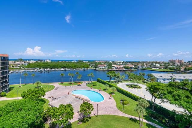 859 Jeffery Street #814, Boca Raton, FL 33487 (MLS #RX-10656867) :: Berkshire Hathaway HomeServices EWM Realty