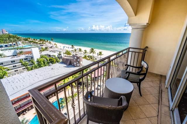 601 N Fort Lauderdale Beach Boulevard #811, Fort Lauderdale, FL 33304 (#RX-10657260) :: Baron Real Estate