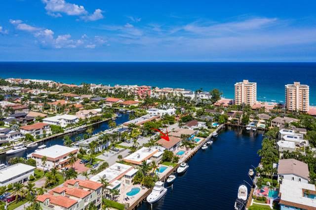 1106 Bel Air Drive B, Highland Beach, FL 33487 (#RX-10657287) :: Ryan Jennings Group