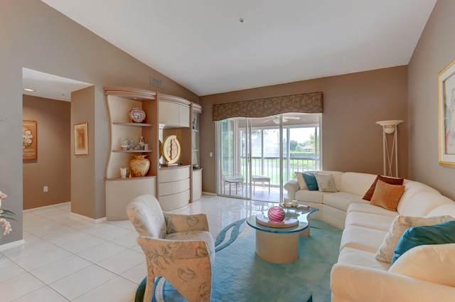 5914 Regal Glen Drive #208, Boynton Beach, FL 33437 (MLS #RX-10657400) :: Castelli Real Estate Services