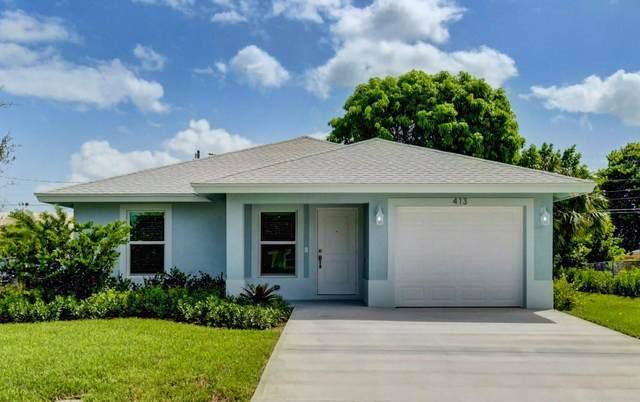413 SW 15th Avenue, Delray Beach, FL 33444 (MLS #RX-10657410) :: Berkshire Hathaway HomeServices EWM Realty