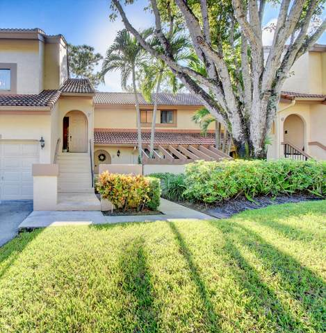 5521 Coach House Circle F, Boca Raton, FL 33486 (MLS #RX-10657426) :: Berkshire Hathaway HomeServices EWM Realty