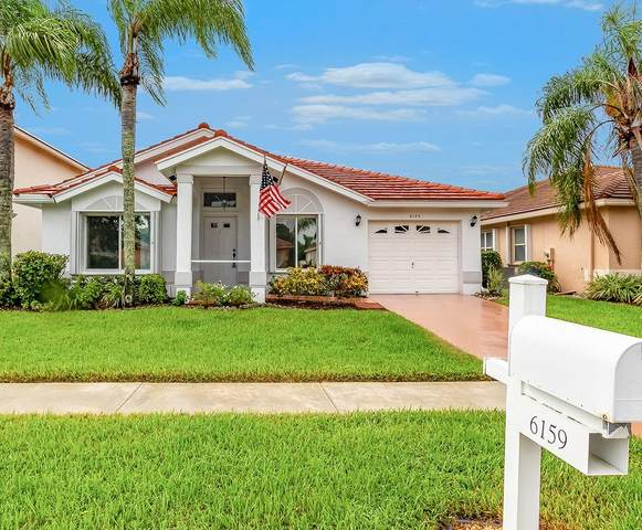 6159 Harbour Greens Drive, Lake Worth, FL 33467 (#RX-10657436) :: Ryan Jennings Group