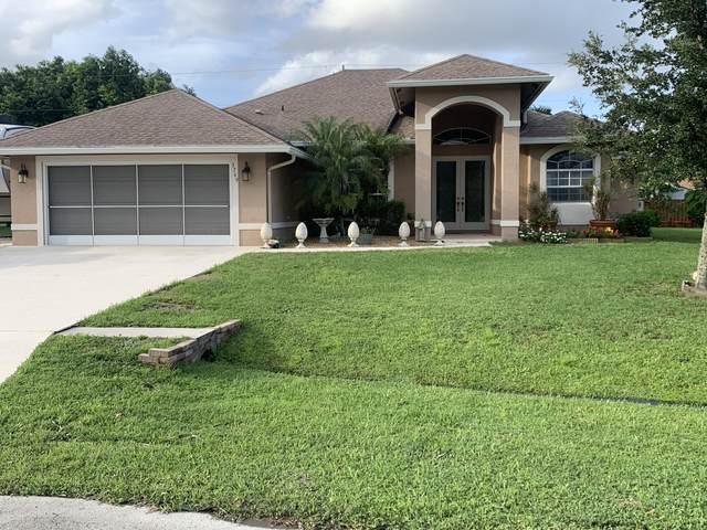 3769 SW Darby Lane, Port Saint Lucie, FL 34953 (MLS #RX-10657439) :: Berkshire Hathaway HomeServices EWM Realty