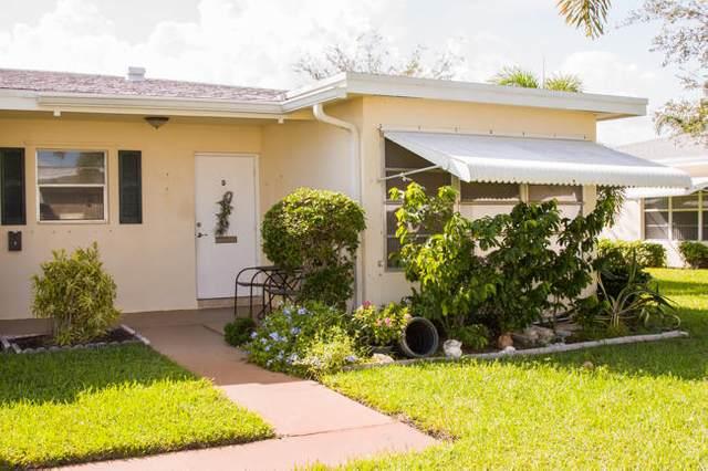 311 Pine Point Drive D, Boynton Beach, FL 33435 (MLS #RX-10657473) :: Castelli Real Estate Services