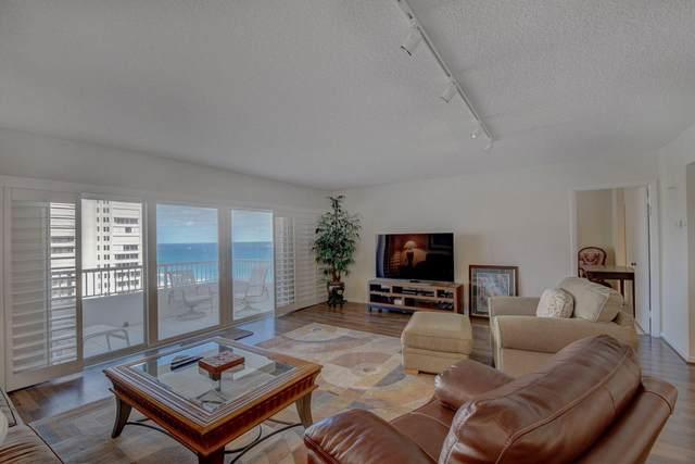 600 S Ocean Boulevard #1207, Boca Raton, FL 33432 (#RX-10657635) :: Posh Properties