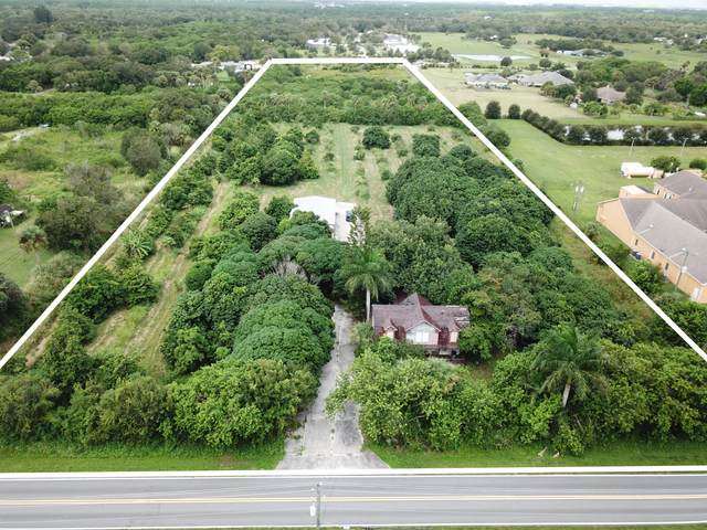 6001 Oleander Avenue, Fort Pierce, FL 34950 (MLS #RX-10657640) :: Berkshire Hathaway HomeServices EWM Realty