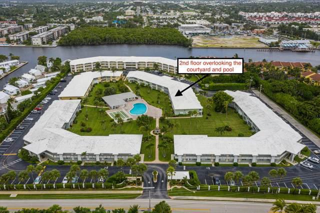 5540 N Ocean Boulevard #203, Ocean Ridge, FL 33435 (MLS #RX-10657689) :: Berkshire Hathaway HomeServices EWM Realty