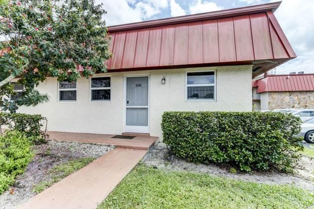12019 W Greenway Drive #108, Royal Palm Beach, FL 33411 (MLS #RX-10657832) :: The Jack Coden Group