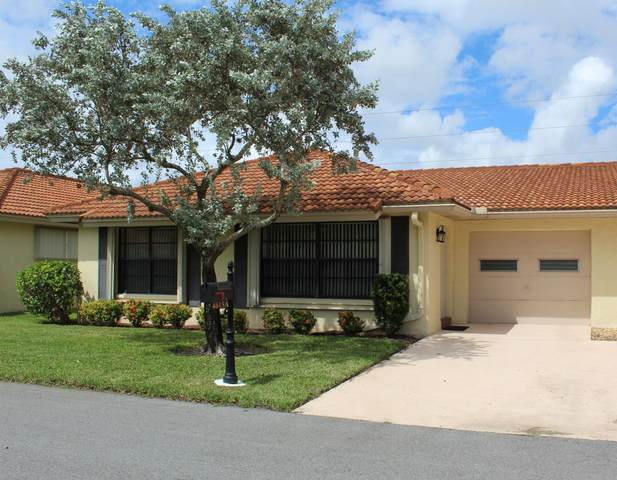 4615 Laurel Tree Road A, Boynton Beach, FL 33436 (#RX-10657961) :: The Reynolds Team/ONE Sotheby's International Realty
