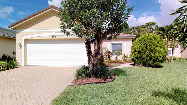 589 SW Indian Key Drive, Port Saint Lucie, FL 34986 (#RX-10657995) :: The Reynolds Team/ONE Sotheby's International Realty