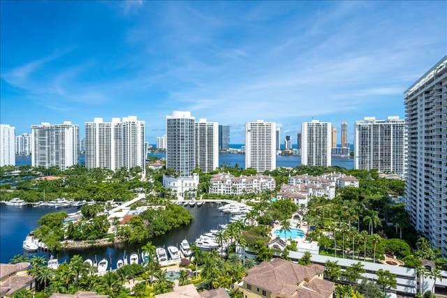 1000 Island Boulevard #2208, Aventura, FL 33160 (MLS #RX-10658018) :: Berkshire Hathaway HomeServices EWM Realty