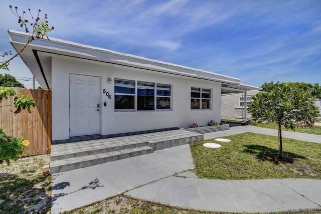 506 Worthmore Drive, Lake Worth, FL 33460 (MLS #RX-10658070) :: Berkshire Hathaway HomeServices EWM Realty