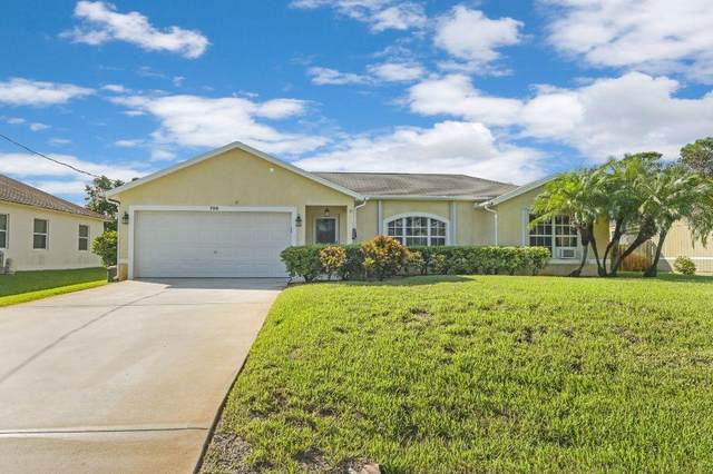 768 SW Arkansas Terrace, Port Saint Lucie, FL 34953 (MLS #RX-10658128) :: Berkshire Hathaway HomeServices EWM Realty