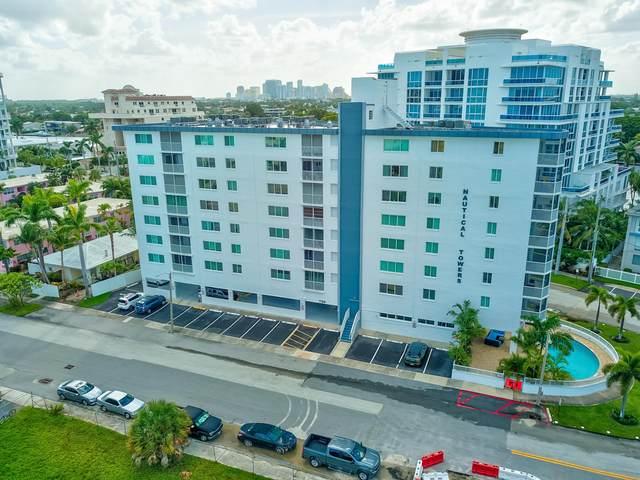 720 Bayshore Drive #605, Fort Lauderdale, FL 33304 (MLS #RX-10658196) :: The Paiz Group