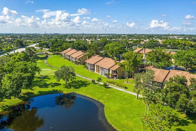 5021 Oak Hill Lane #122, Delray Beach, FL 33484 (MLS #RX-10658223) :: Berkshire Hathaway HomeServices EWM Realty