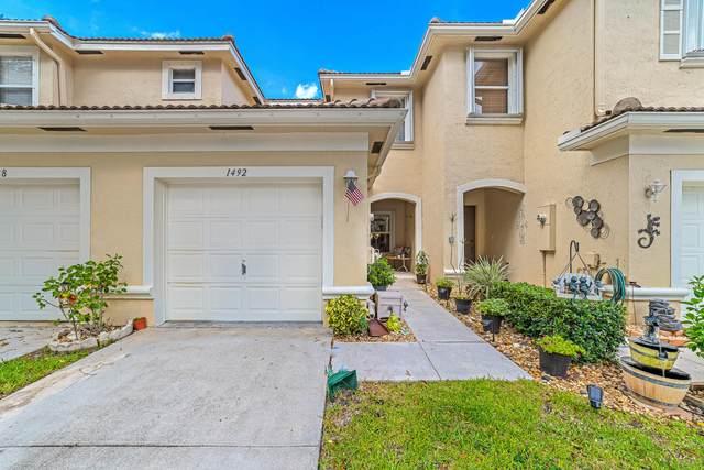 1492 New Castle Terrace, Wellington, FL 33414 (#RX-10658265) :: Ryan Jennings Group