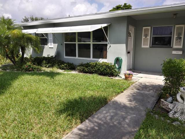 802 High Point Drive E C, Delray Beach, FL 33445 (MLS #RX-10658284) :: The Jack Coden Group