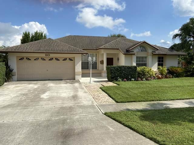 110 Spanish Pine Terrace, Royal Palm Beach, FL 33411 (MLS #RX-10658476) :: The Jack Coden Group