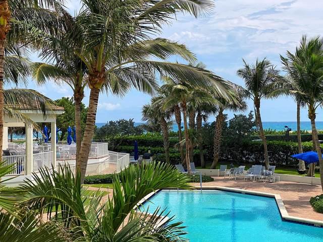 3000 N Ocean Drive 2-G, Singer Island, FL 33404 (#RX-10658514) :: Signature International Real Estate