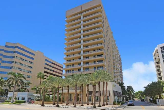 1551 N Flagler Drive #810, West Palm Beach, FL 33401 (#RX-10658561) :: Posh Properties