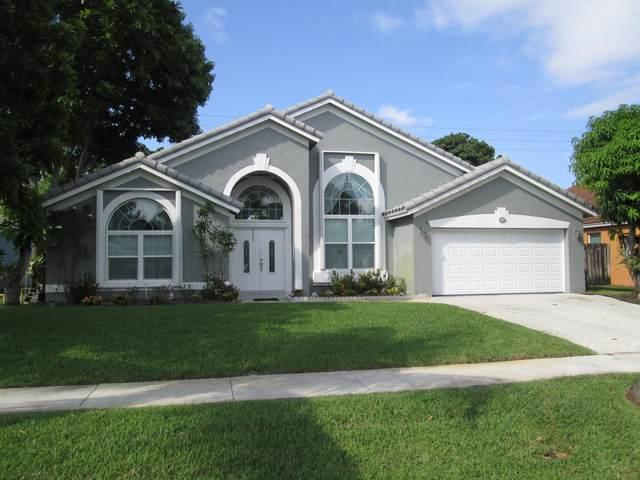 3843 Jonathans Way, Boynton Beach, FL 33436 (#RX-10658603) :: Real Estate Authority