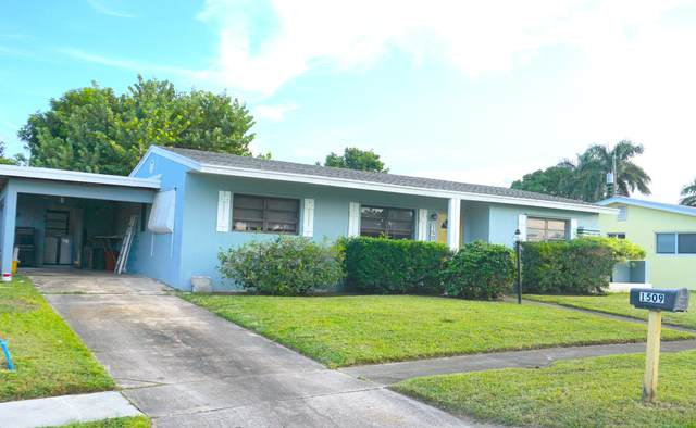 1509 Shirley Court, Lake Worth, FL 33461 (#RX-10658635) :: Ryan Jennings Group