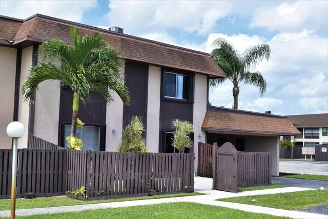 2140 Sherwood Forest Boulevard #11, West Palm Beach, FL 33415 (#RX-10658671) :: Ryan Jennings Group