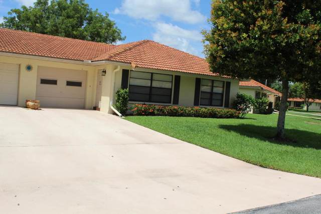 4620 Apple Tree Circle B, Boynton Beach, FL 33436 (#RX-10658692) :: Ryan Jennings Group