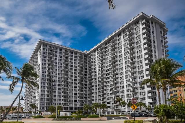 405 N Ocean Boulevard #1217, Pompano Beach, FL 33062 (#RX-10658920) :: Posh Properties