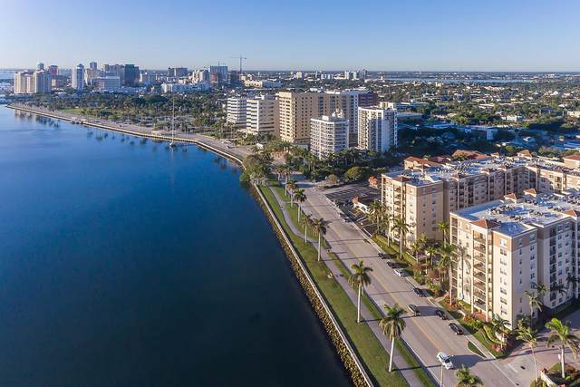 1801 N Flagler Drive #214, West Palm Beach, FL 33407 (MLS #RX-10658986) :: Berkshire Hathaway HomeServices EWM Realty