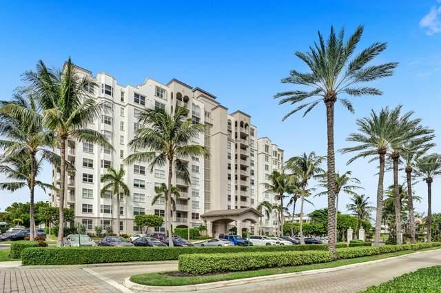 3594 S Ocean Boulevard #605, Highland Beach, FL 33487 (#RX-10659134) :: Posh Properties