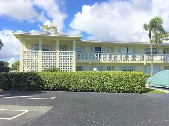 1061 Orange Terrace #101, Delray Beach, FL 33445 (MLS #RX-10659382) :: Castelli Real Estate Services