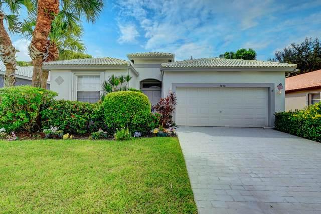 5850 Seashell Terrace, Boynton Beach, FL 33437 (MLS #RX-10659432) :: Berkshire Hathaway HomeServices EWM Realty