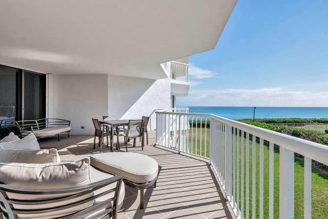 3170 S Ocean Boulevard 301 S, Palm Beach, FL 33480 (#RX-10659639) :: Posh Properties