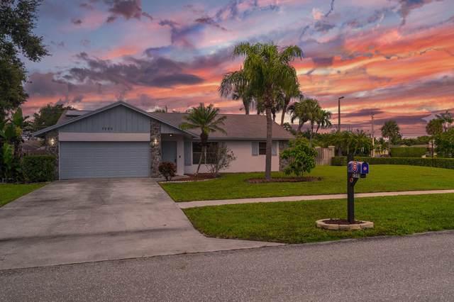 7595 Woodland Creek Lane, Lake Worth, FL 33467 (MLS #RX-10659693) :: Berkshire Hathaway HomeServices EWM Realty