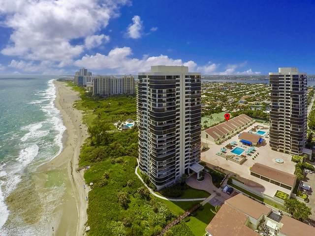 3972 N Ocean Drive #5, Singer Island, FL 33404 (#RX-10659802) :: Posh Properties