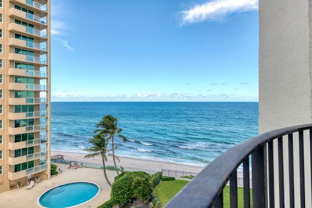 5420 N Ocean Drive #705, Riviera Beach, FL 33404 (MLS #RX-10660038) :: Berkshire Hathaway HomeServices EWM Realty