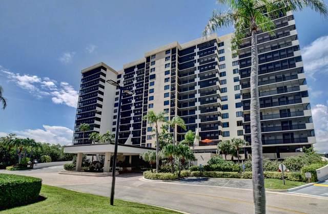 3420 S Ocean Boulevard 4Q, Highland Beach, FL 33487 (MLS #RX-10660080) :: Berkshire Hathaway HomeServices EWM Realty