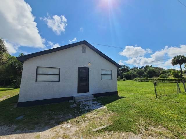 1107 Ave F, Fort Pierce, FL 34947 (MLS #RX-10660874) :: Laurie Finkelstein Reader Team