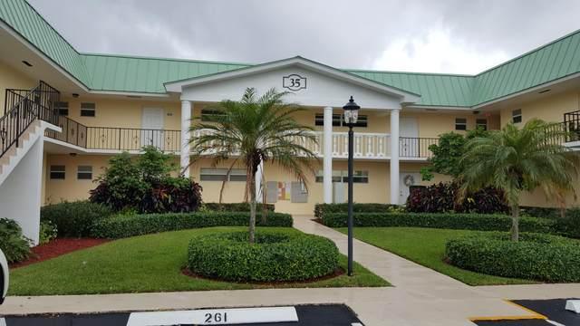 35 Colonial Club Drive #200, Boynton Beach, FL 33435 (#RX-10661155) :: Ryan Jennings Group