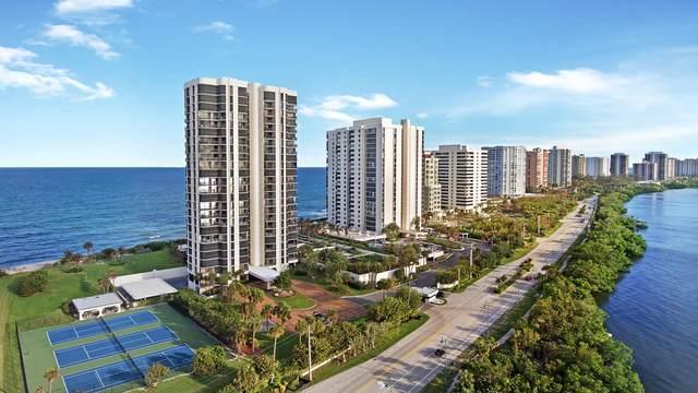 5380 N Ocean Drive 24H, Riviera Beach, FL 33404 (#RX-10661744) :: Signature International Real Estate