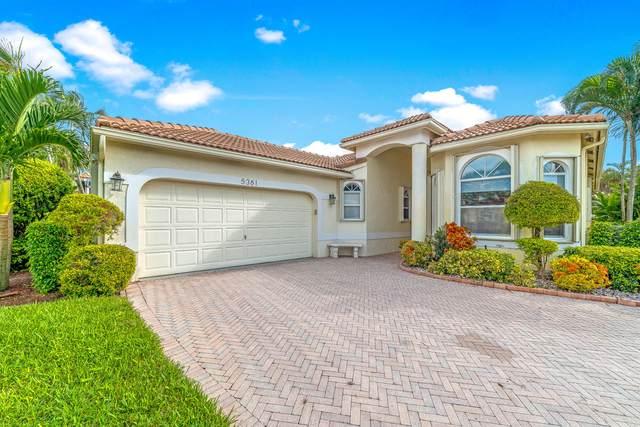 5361 Vallejo Terrace, Delray Beach, FL 33484 (MLS #RX-10661912) :: Berkshire Hathaway HomeServices EWM Realty