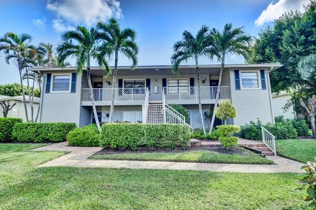 5 Stratford Drive B, Boynton Beach, FL 33436 (MLS #RX-10661950) :: Berkshire Hathaway HomeServices EWM Realty