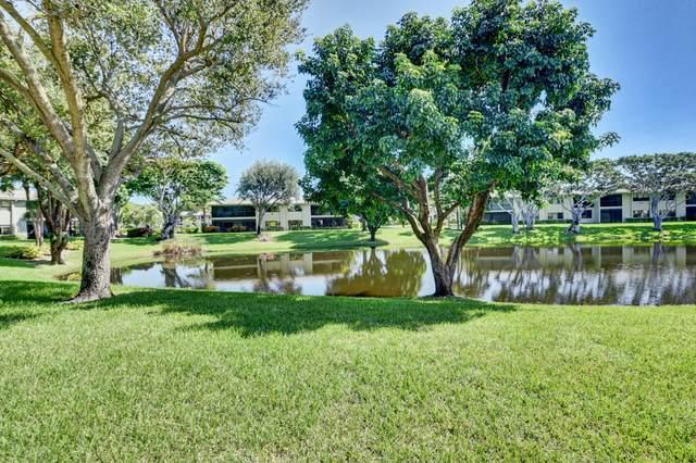 52 Stratford Lane G, Boynton Beach, FL 33436 (MLS #RX-10662005) :: Berkshire Hathaway HomeServices EWM Realty