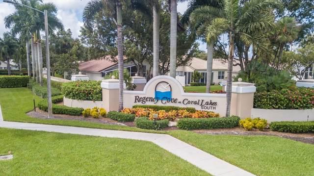 6444 Tiara Drive, Boynton Beach, FL 33437 (MLS #RX-10662036) :: Laurie Finkelstein Reader Team