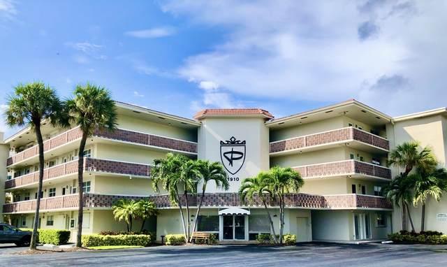 1910 S Ocean Boulevard #406, Delray Beach, FL 33483 (MLS #RX-10662331) :: Berkshire Hathaway HomeServices EWM Realty