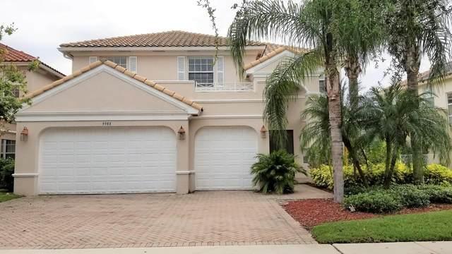 9988 Cobblestone Creek Drive, Boynton Beach, FL 33472 (MLS #RX-10662354) :: Berkshire Hathaway HomeServices EWM Realty