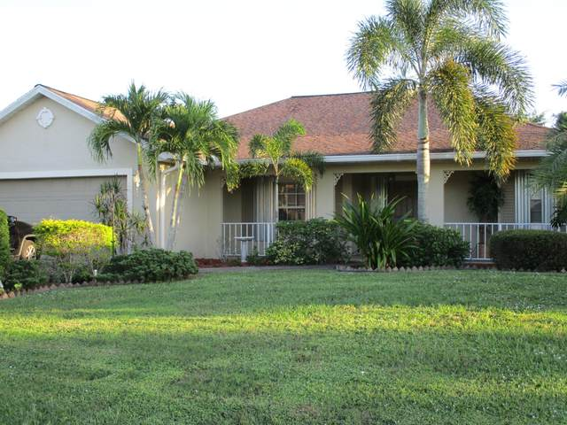 612 SW Mccall Road, Port Saint Lucie, FL 34953 (MLS #RX-10662420) :: Berkshire Hathaway HomeServices EWM Realty